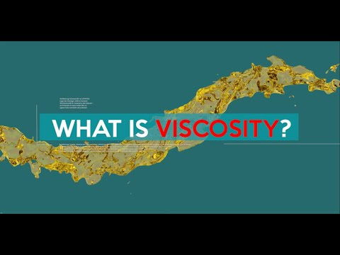 What is viscosity? Definition, formula, viscosity classes