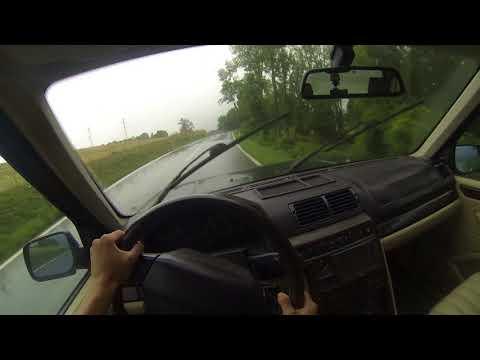 2001 Range Rover 4.6 HSE - POV Drive (Wet)