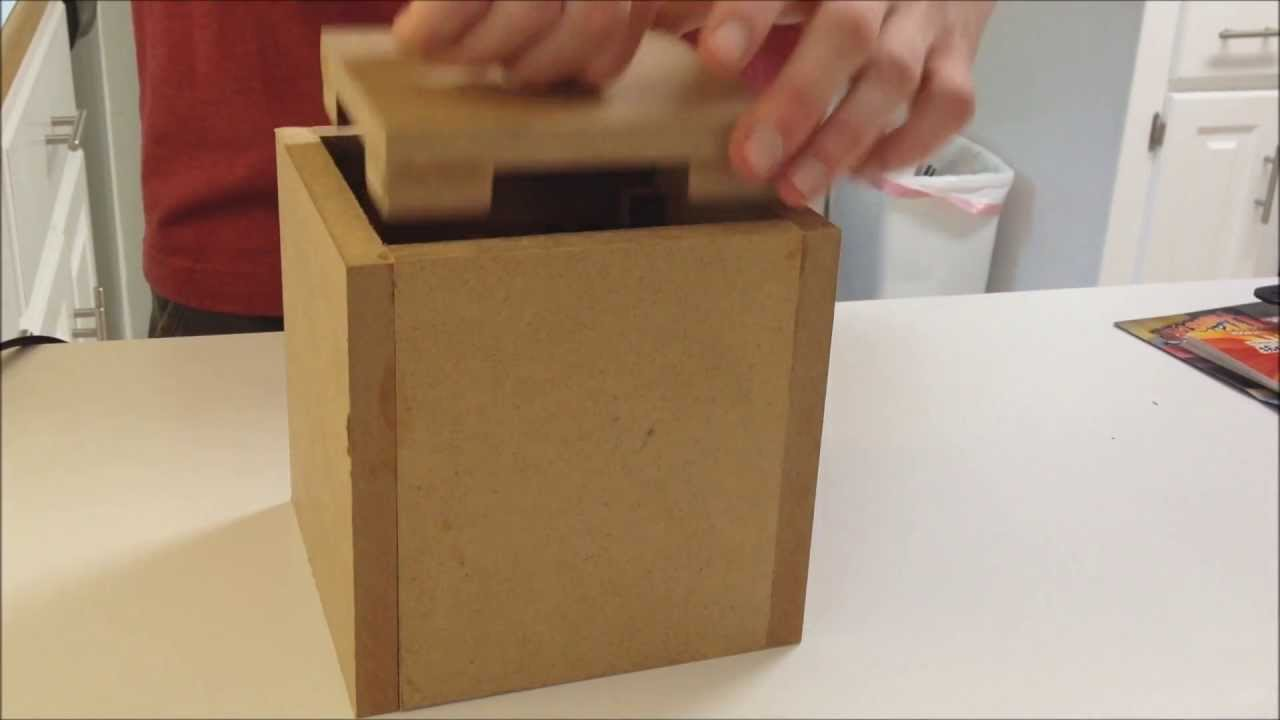 Centripetal Force Puzzle Box (How To Make) - YouTube