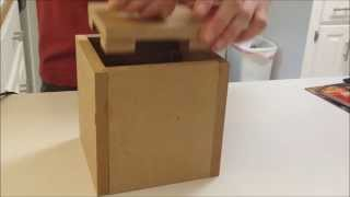 Centripetal Force Puzzle Box (how To Make)