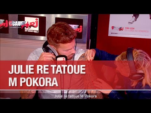Julie re tatoue M Pokora - C'Cauet sur...