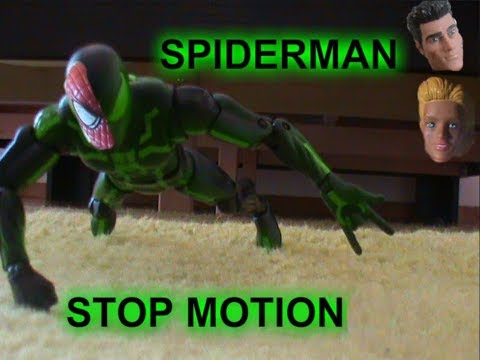 HISTORY OF SPIDERMAN STOPMOTION