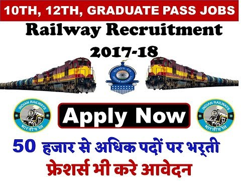 Latest Railway Jobs Notifications Apply Online 2017 | Govt Job