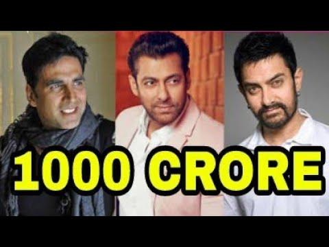 akshay salman aamir 3 Movies कमा सकती हैं 1000 Crores से ज्यादा, Robot 2.0 Race 3,Thugs Of Hindostan