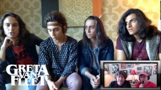 Greta Van Fleet Called Out Over Led Zeppelin Likeness In Interview