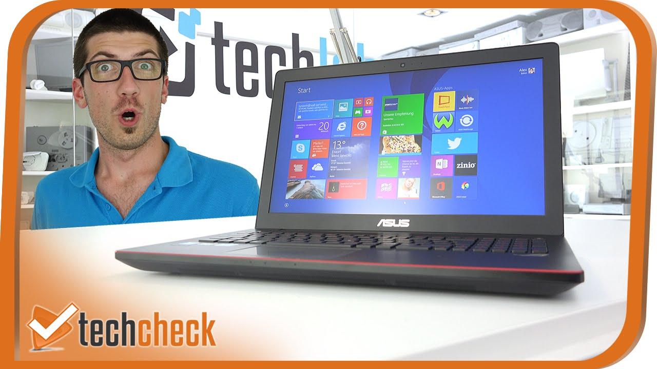 g nstiger gaming laptop i asus gl550jk cn390h im test i