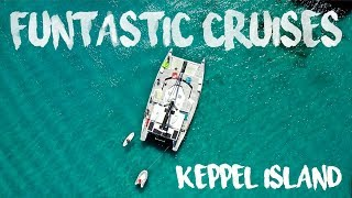 FUNTASTIC CRUISES - great Keppel island day trip