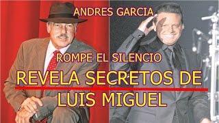 ANDRES GARCIA rompe el silencio y REVELA SECRETOS DE LUIS MIGUEL tras PARTICIPAR EN LA SERIE