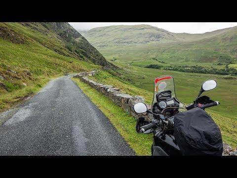 Yamaha XT660Z In Ireland & Scotland - Still In West And Applecross Pass - Part 20