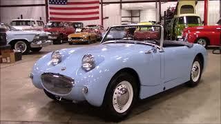 1960 Austin Healey Sprite Bugeye Blue