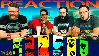 Young Justice 1x26 REACTION!!