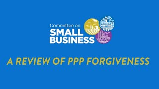 A Review of PPP Forgiveness