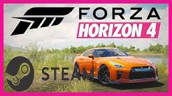 Forza Horizon 4 in Steam einbinden - Tutorial! Steamlink - Spielen auf dem Sofa ohne Xbox one