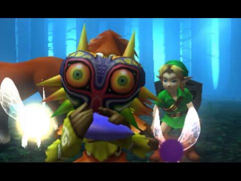 The Legend of Zelda: Majora's Mask 3D 100% Walkthrough Part 1 - Intro + Clock Town