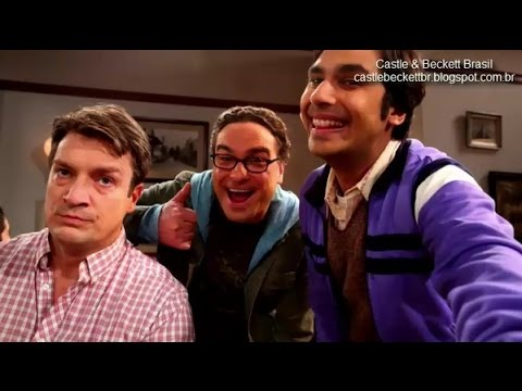 Nathan Fillion em The Big Bang Theory S08E15  Legendado