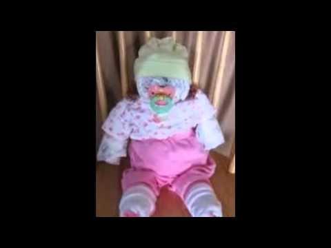 Baby Diaper Cake Youtube