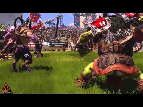 Blood Bowl 2: Chaos vs Orcs (Cow Ditka Reigns Supreme) | WoWcrendor