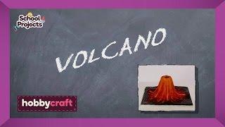 كيفية جعل الطين بركان | Hobbycraft