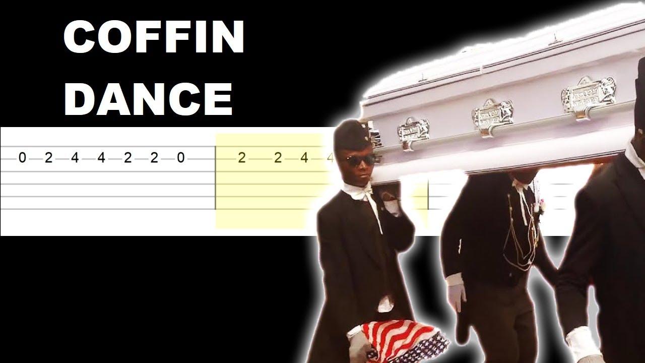 Coffin Dance Meme Song Easy Guitar Tabs Tutorial Youtube