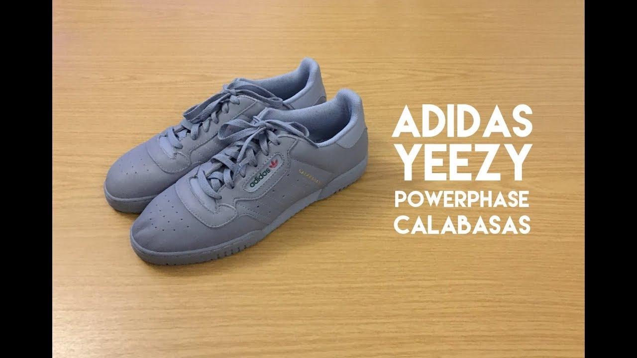 c31e7ee2c175 Adidas Yeezy Powerphase Grey - Review - YouTube