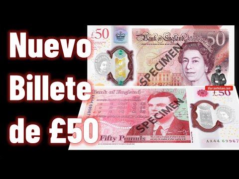 El nuevo Billete de £50 rinde homenaje a Alan Turing
