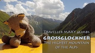 Traveller Maxy climbs Grossglockner, the highest mountain in the Alps