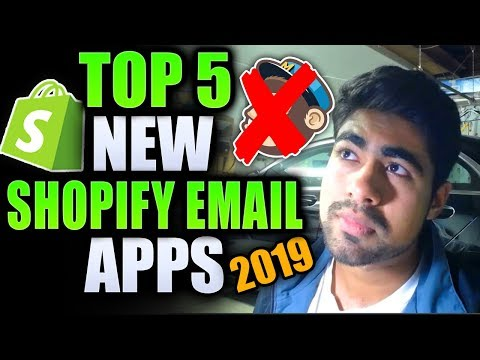 TOP 5 Shopify Email Marketing Apps 2019 (BEST MailChimp Alternative) thumbnail