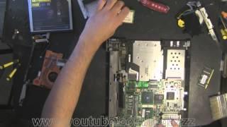 Разобрать ноутбук Lenovo ThinkPad T42. Замена видеочипа по низкой стоимости