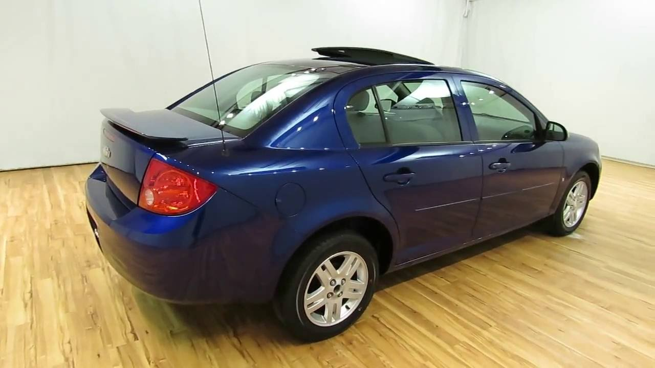 2007 chevrolet cobalt lt sunroof carvision com youtube. Black Bedroom Furniture Sets. Home Design Ideas