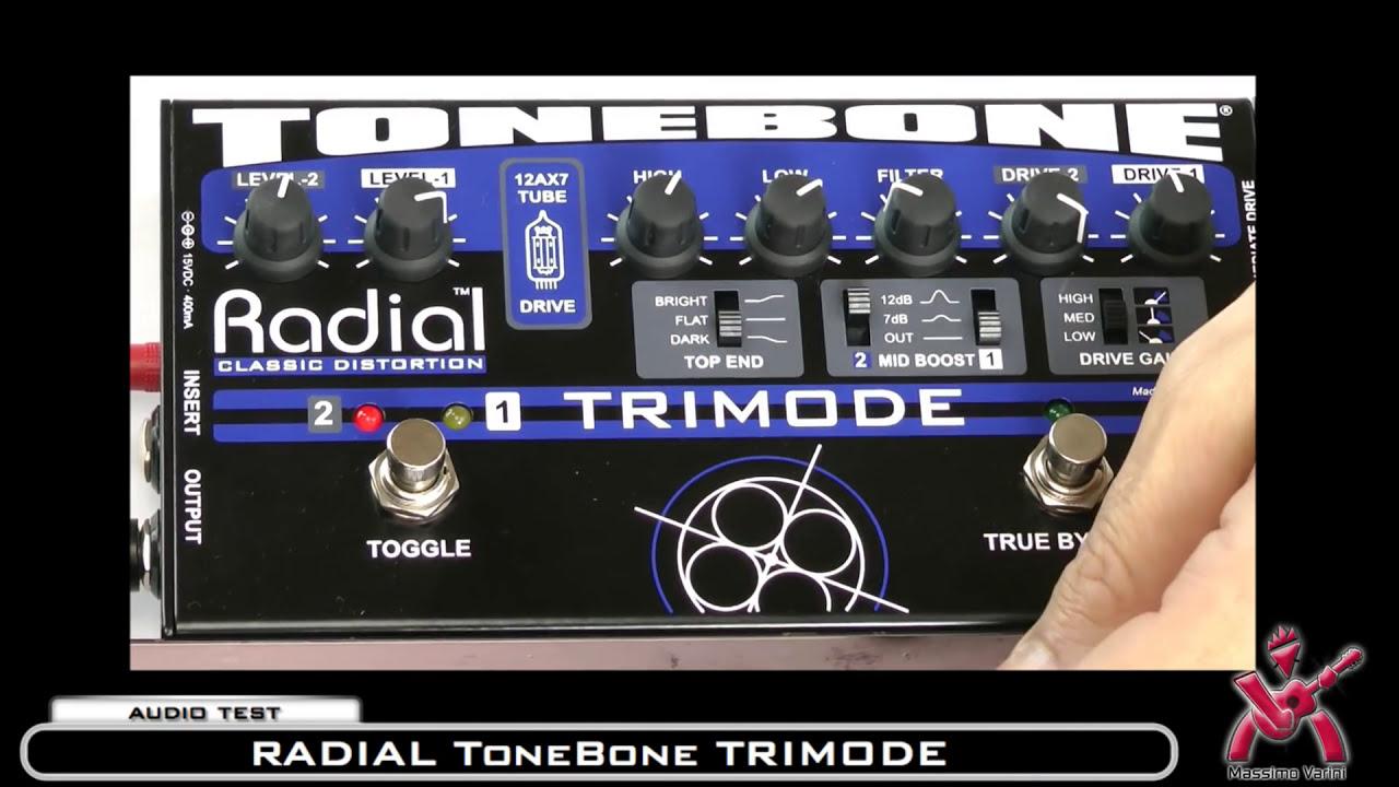 AUDIO TEST  43 Audio Test  RADIAL tonebone TRIMODE Classic Distortion -  Massimo Varini 138e5dd0dd