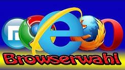 Browserwahl - Welcher Browser passt zu mir???