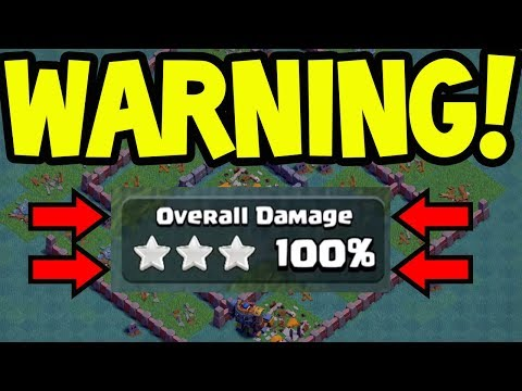 Warning - NO ONE IS SAFE! Clash of Clans Builder Hall 7 Destruction!
