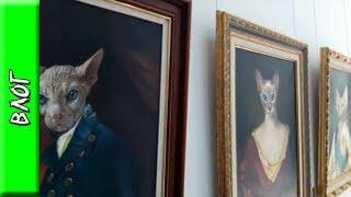 Странная выставка картин Никаса Сафронова