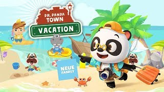 Dr. Panda Vacation: Activity App for Kids