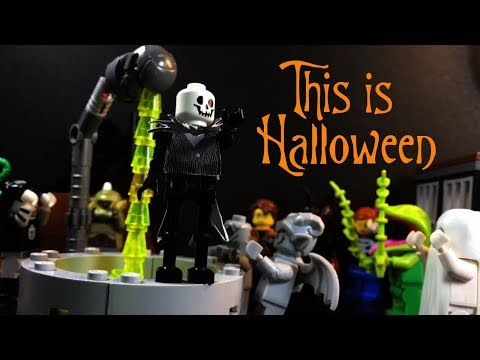 This Is Halloween  LEGO Stop Motion