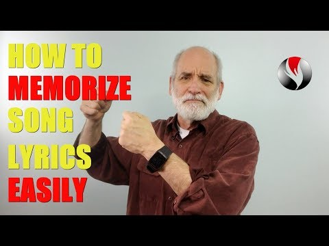 How to Memorize Song Lyrics Easily