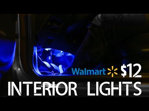 $12 WALMART INTERIOR LIGHTS: Are they any good?