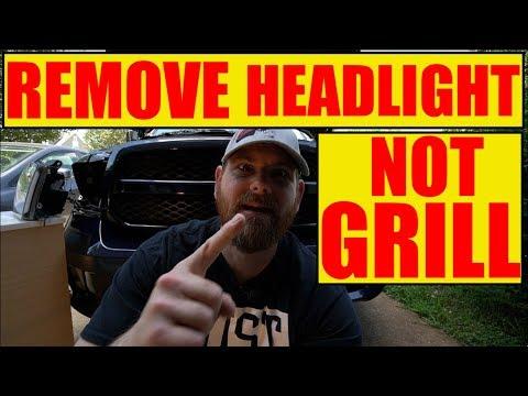 Remove HEADLIGHTS DODGE RAM
