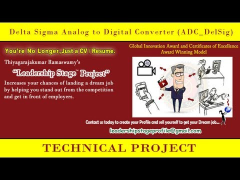 Leadership Stage  Project- Delta Sigma Analog to Digital Converter (ADC_DelSig)