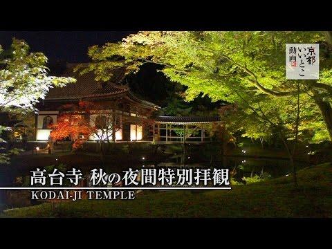高台寺 秋の夜間特別拝観 / Kodai-ji Temple / 京都いいとこ動画