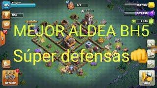 Clash of Clans- Taller del Constructor- BH5- Diseño de Aldea (La mejor aldea de CoC)