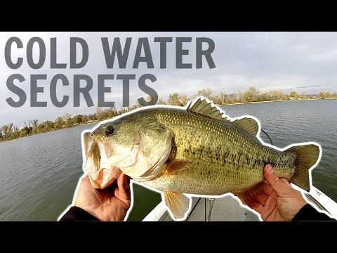 4 SECRETS To Catch More Bass In COLD WATER!!!
