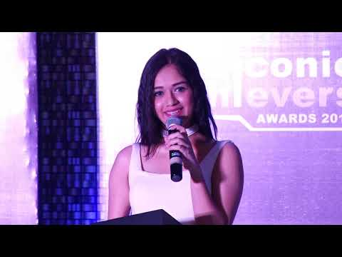 Iconic Achievers Awards 2018 @ Mumbai (Ms. Jannat Zubair Rehmani)