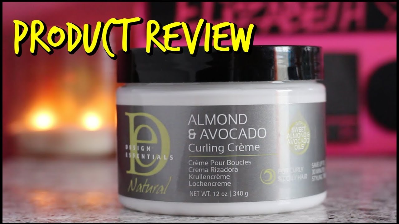 Review Design Essentials Almond Avocado Oil Natural Curling Creme