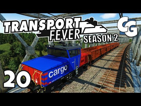 Transport Fever - S02E20 - End-to-End Tools Supply Chain - Transport Fever Let's Play