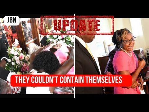 Shante Skyers Funeral Service Was Too Much For Some Mourners/JBN