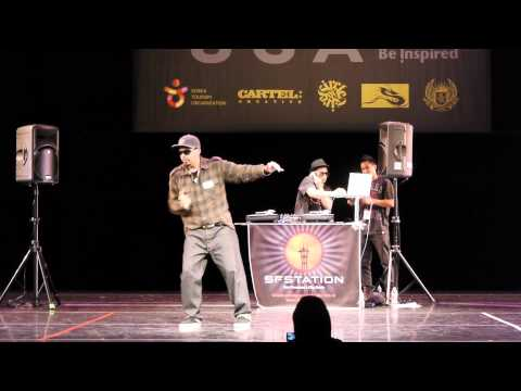 Popping Prelims Part 1  R16 USA 2011  Funk'd Up TV