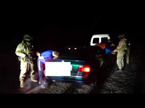 Задержание машины с наркотиками. Актобе 11.09.2019г.