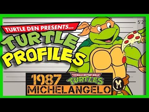 Michelangelo 1987 TMNT Television Show | TURTLE PROFILE