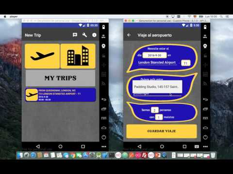 Airtaxi, app to share taxi